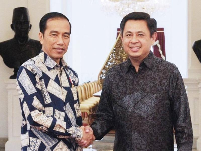 Pdt. Dr. Rubin Adi Abraham saat dipanggil ke Istana oleh Presiden Jokowi