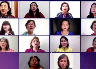 peringatan Hari Persekutuan Perempuan Gereja Asia (HPPGA) 2020