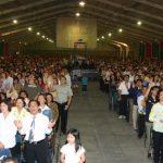 Beginilah suasana umat Tuhan yang hadir di KKR perdana tahun 2006 di IPDN