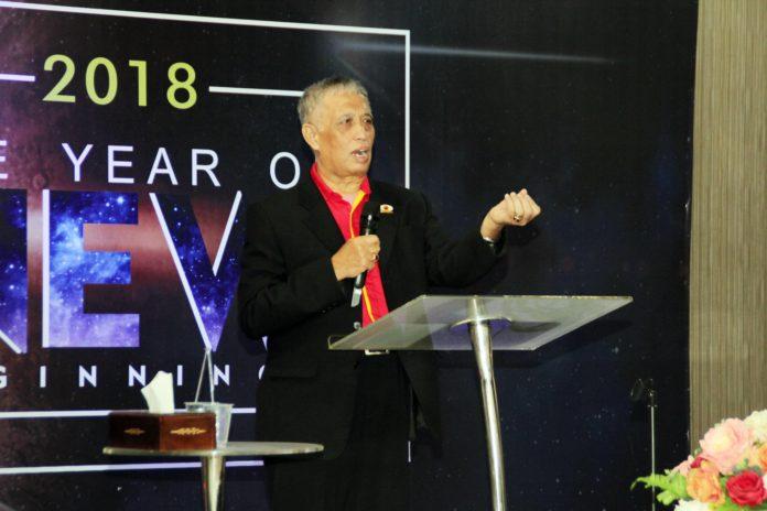Ketua Umum API, Pendeta Harsanto Adi (Foto: DOK MI)