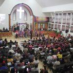 Suasana KKR di GKST Sion, Poso