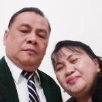 Pdt. Ruddy Kila bersama istri. Foto IST