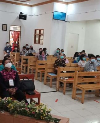 Diklat pendeta GGP Banten