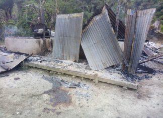 Pembakaran rumah ibadah di sigi