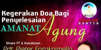 Banten Berdoa