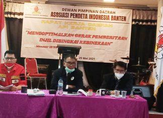 Rakerda DPD API Banten