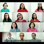 Paduan suara virtual yang dibawakan oleh GKJ Jakarta