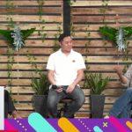 CEO GoPlay Edy Sulistyo dan Romo Andang L Binawan dalam talkshow yang dipandu moderator. (Foto-foto: tangkapan layar)