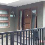 Rumah pastori GKP Jemaat Kampung Tengah yang dijadikan tempat isoman